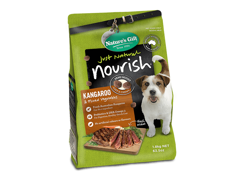 Nourish Semi-Moist Dry food